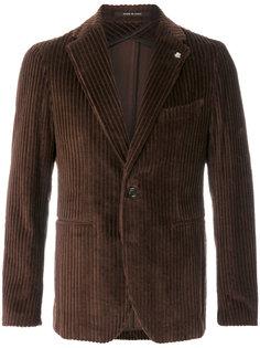 вельветовый пиджак Tagliatore
