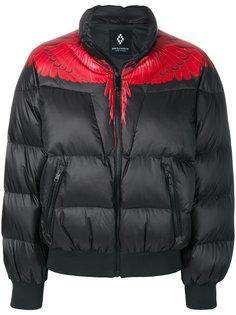 укороченная дутая куртка  Marcelo Burlon County Of Milan