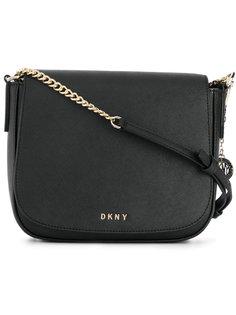 сумка на плечо с откидным клапаном DKNY