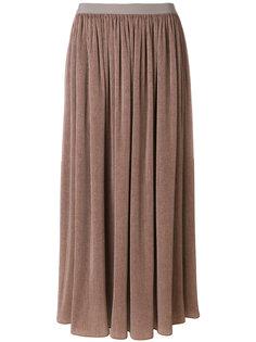 вельветовая юбка-макси Giorgio Armani