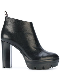 ботинки на высоком каблуке Santoni