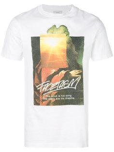 футболка с круглым вырезом и принтом Facetasm