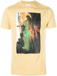 футболка с круглым вырезом с принтом Facetasm