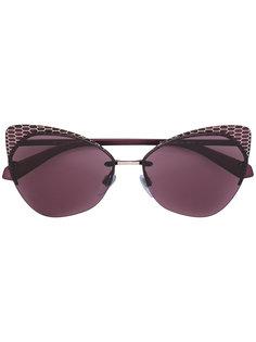 """солнцезащитные очки в оправе """"кошачий глаз"""" Bulgari"""