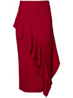 юбка с воланами Strateas Carlucci