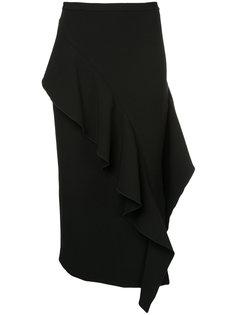 юбка с рюшами Strateas Carlucci