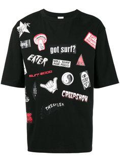 футболка с нашивками Ex Infinitas