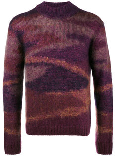 камуфляжный свитер  Missoni
