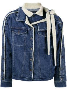 двухслойная джинсовая куртка с овчиной Y / Project