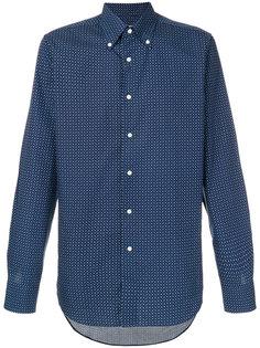 рубашка с узором пейсли Canali