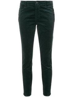 укороченные брюки скинни Zion J Brand