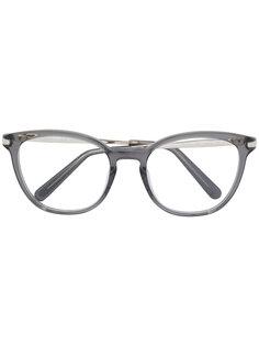 очки в круглой оправе Chloé Eyewear