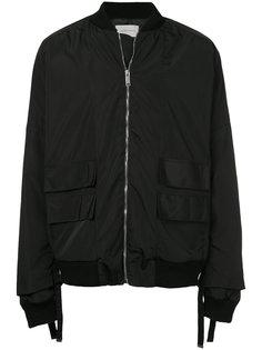 куртка-бомбер на молнии Strateas Carlucci
