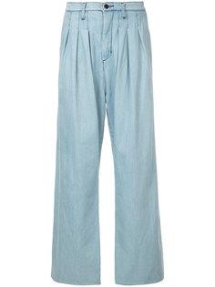 брюки со складками  Strateas Carlucci