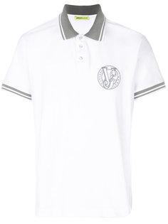 футболка-поло с логотипом Versace Jeans