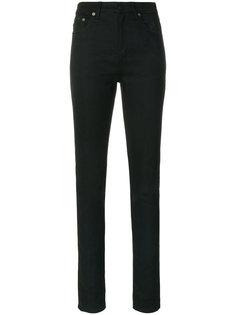 выбеленные джинсы слим  Saint Laurent