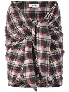 мини-юбка Placid с деталью в виде узла  Isabel Marant Étoile