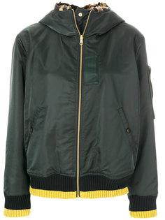 куртка в полоску с капюшоном  By Malene Birger