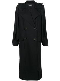 двубортное пальто Capucci