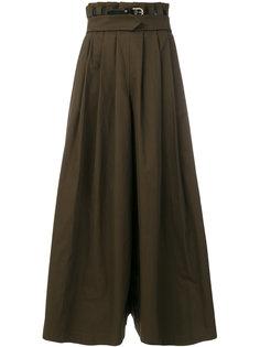 расклешенная юбка макси  Capucci
