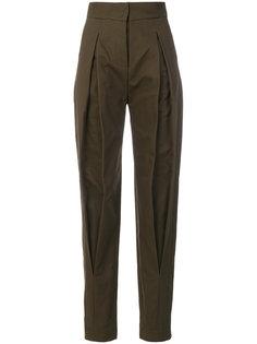 брюки строгого кроя с завышенной талией Capucci