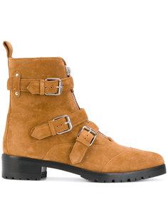 ботинки с декоративными ремешками Tabitha Simmons