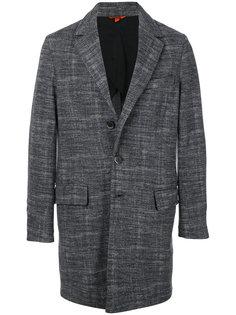 приталенное пальто строгого кроя Barena