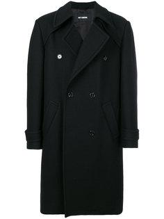 двубортное пальто Raf Simons