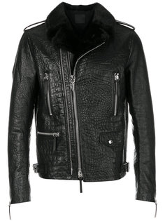 кожаная куртка Cornelius  Giuseppe Zanotti Design
