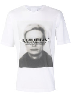 футболка с графическим принтом Helmut Lang