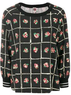 блузка с цветочным принтом IM Isola Marras