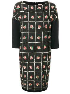 платье прямого кроя с цветочным принтом IM Isola Marras