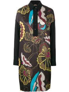 платье-рубашка с цветочным принтом IM Isola Marras