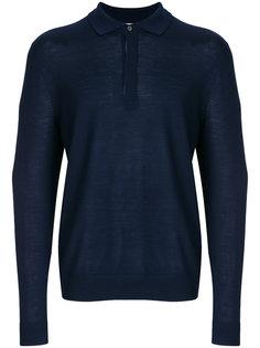 свитер в стиле рубашки-поло Paul Smith