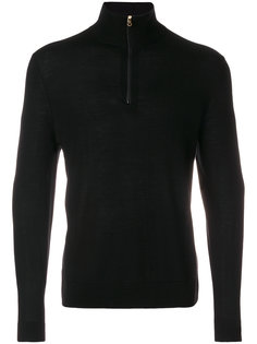 свитер с воротником на молнии Paul Smith