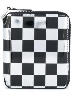 бумажник в шашечку Comme Des Garçons Wallet