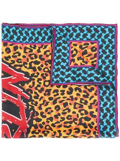 платок с леопардовым принтом Lala Berlin