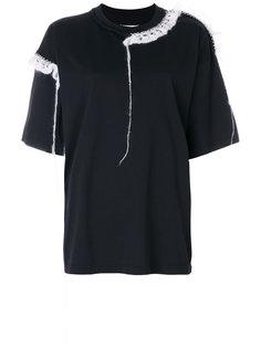 футболка с декором из мохера Maison Margiela
