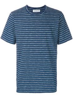 полосатая футболка Universal Works