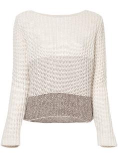 "свитер дизайна ""колор-блок"" Fabiana Filippi"