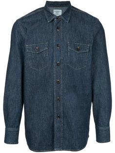 джинсовая рубашка Kent & Curwen