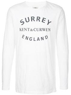 футболка с принтом Kent & Curwen