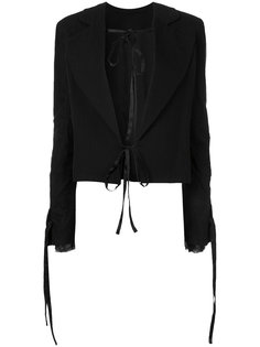 пиджак с завязками Ann Demeulemeester