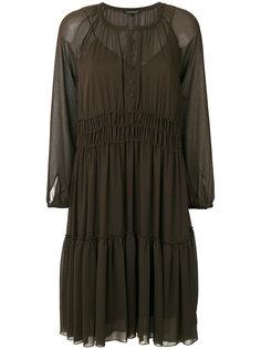 полупрозрачное полупрозрачное платье  Luisa Cerano