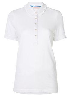 блузка на пуговицах с короткими рукавами Tory Burch