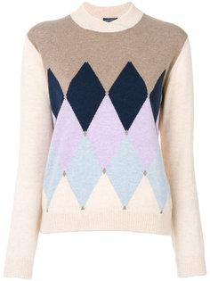 свитер с треугольниками  Ballantyne