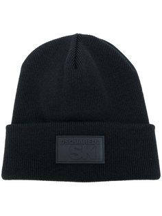 шапка с нашивкой логотипа Dsquared2