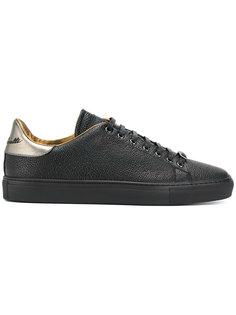 кроссовки с контрастной стойкой на каблуке Roberto Cavalli