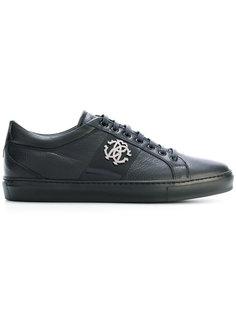 кроссовки с логотипом Roberto Cavalli