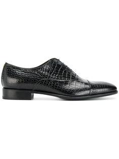 туфли на шнуровке Roberto Cavalli